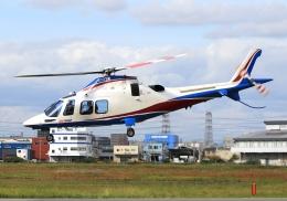 LOTUSさんが、八尾空港で撮影した静岡エアコミュータ AW109SPの航空フォト(飛行機 写真・画像)