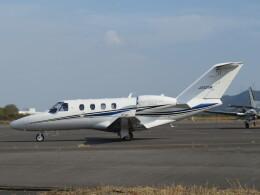 F.YUKIHIDEさんが、岡南飛行場で撮影したグラフィック 525 Citation M2の航空フォト(飛行機 写真・画像)