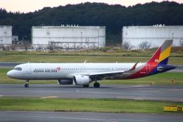 まーちらぴっどさんが、成田国際空港で撮影したアシアナ航空 A321-251NXの航空フォト(飛行機 写真・画像)