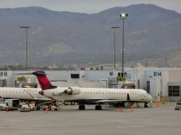 TA27さんが、ソルトレークシティ国際空港で撮影したスカイウエスト CL-600-2D24 Regional Jet CRJ-900ERの航空フォト(飛行機 写真・画像)