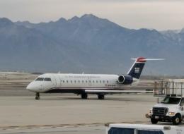 TA27さんが、ソルトレークシティ国際空港で撮影したスカイウエスト CL-600-2B19(CRJ-200LR)の航空フォト(飛行機 写真・画像)