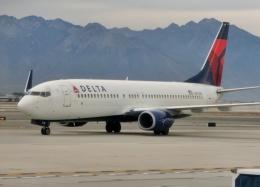 TA27さんが、ソルトレークシティ国際空港で撮影したデルタ航空 737-832の航空フォト(飛行機 写真・画像)