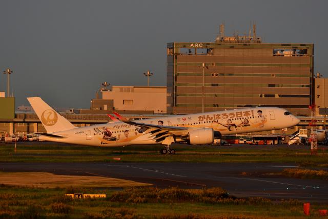ひこ☆さんが、羽田空港で撮影した日本航空 A350-941の航空フォト(飛行機 写真・画像)