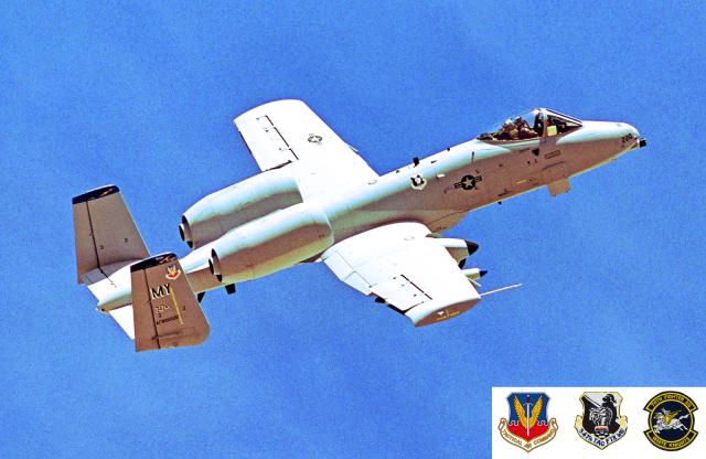 A-330さんが、ネリス空軍基地で撮影したアメリカ空軍 A-10A Thunderbolt IIの航空フォト(飛行機 写真・画像)