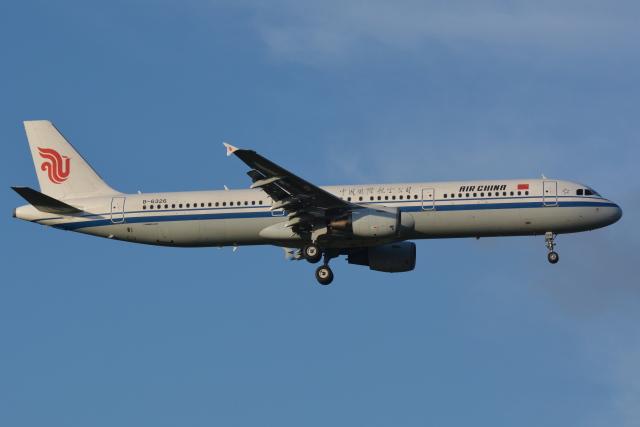Deepさんが、成田国際空港で撮影した中国国際航空 A321-213の航空フォト(飛行機 写真・画像)