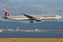Deepさんが、関西国際空港で撮影したカタール航空 777-3DZ/ERの航空フォト(飛行機 写真・画像)