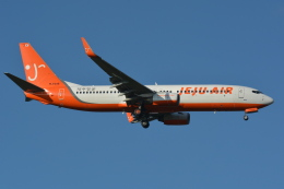 Deepさんが、成田国際空港で撮影したチェジュ航空 737-8Q8の航空フォト(飛行機 写真・画像)