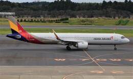 Rsaさんが、成田国際空港で撮影したアシアナ航空 A321-251NXの航空フォト(飛行機 写真・画像)