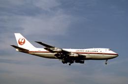 JAパイロットさんが、成田国際空港で撮影した日本航空 747-146の航空フォト(飛行機 写真・画像)