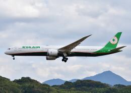 じーく。さんが、福岡空港で撮影したエバー航空 787-10の航空フォト(飛行機 写真・画像)