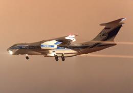 雲霧さんが、成田国際空港で撮影したヴォルガ・ドニエプル航空 Il-76TDの航空フォト(飛行機 写真・画像)
