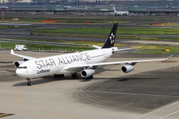 kan787allさんが、羽田空港で撮影したルフトハンザドイツ航空 A340-313Xの航空フォト(飛行機 写真・画像)