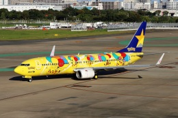 kan787allさんが、福岡空港で撮影したスカイマーク 737-8ALの航空フォト(飛行機 写真・画像)