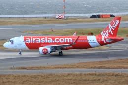空飛ぶ丸さんさんが、関西国際空港で撮影したフィリピン・エアアジア A320-216の航空フォト(飛行機 写真・画像)