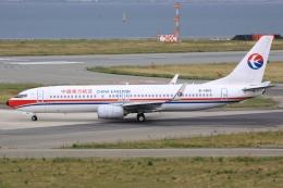 空飛ぶ丸さんさんが、関西国際空港で撮影した中国東方航空 737-89Pの航空フォト(飛行機 写真・画像)