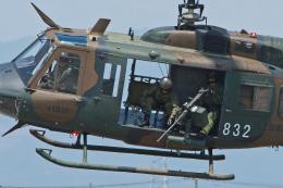 スカルショットさんが、宇都宮飛行場で撮影した陸上自衛隊 UH-1Jの航空フォト(飛行機 写真・画像)