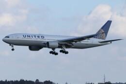 walker2000さんが、成田国際空港で撮影したユナイテッド航空 777-222/ERの航空フォト(飛行機 写真・画像)