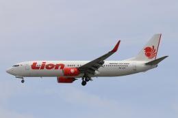磐城さんが、シンガポール・チャンギ国際空港で撮影したライオン・エア 737-8GPの航空フォト(飛行機 写真・画像)