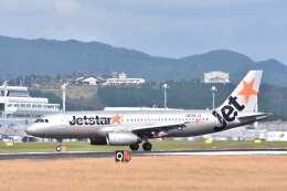 ワイエスさんが、鹿児島空港で撮影したジェットスター・ジャパン A320-232の航空フォト(飛行機 写真・画像)