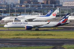 よんろくさんが、羽田空港で撮影したアエロフロート・ロシア航空 A350-941の航空フォト(飛行機 写真・画像)