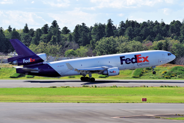 yabyanさんが、成田国際空港で撮影したフェデックス・エクスプレス MD-11Fの航空フォト(飛行機 写真・画像)