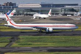よんろくさんが、羽田空港で撮影したガルーダ・インドネシア航空 777-3U3/ERの航空フォト(飛行機 写真・画像)