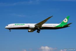 pan_kumaさんが、成田国際空港で撮影したエバー航空 787-10の航空フォト(飛行機 写真・画像)