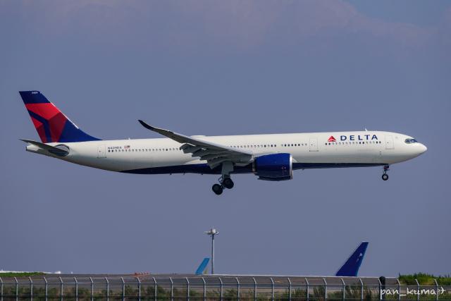 pan_kumaさんが、羽田空港で撮影したデルタ航空 A330-941の航空フォト(飛行機 写真・画像)