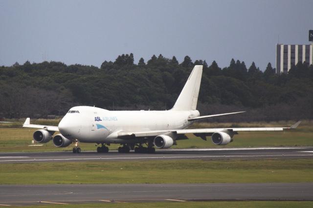 maverickさんが、成田国際空港で撮影したASLエアラインズ・ベルギー 747-4KZF/SCDの航空フォト(飛行機 写真・画像)