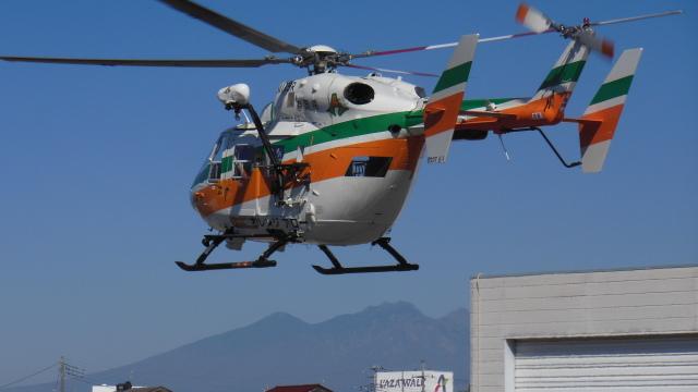 ゴンタさんが、双葉滑空場で撮影した静岡県消防防災航空隊 BK117C-1の航空フォト(飛行機 写真・画像)