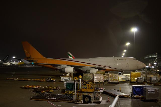 kohei787さんが、香港国際空港で撮影したアエロトランスカーゴ 747-412(BDSF)の航空フォト(飛行機 写真・画像)