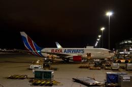 kohei787さんが、香港国際空港で撮影したラヤ・エアウェイズ 767-232(BDSF)の航空フォト(飛行機 写真・画像)