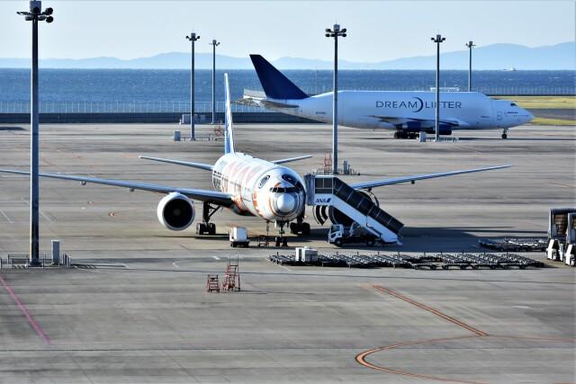 MSN/PFさんが、中部国際空港で撮影した全日空 777-381/ERの航空フォト(飛行機 写真・画像)