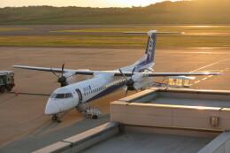 KKiSMさんが、福島空港で撮影したANAウイングス DHC-8-402Q Dash 8の航空フォト(飛行機 写真・画像)