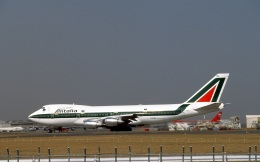 LEVEL789さんが、成田国際空港で撮影したアリタリア航空 747-243Bの航空フォト(飛行機 写真・画像)