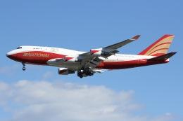 しゃこ隊さんが、横田基地で撮影したナショナル・エアラインズ 747-446(BCF)の航空フォト(飛行機 写真・画像)
