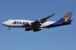 しゃこ隊さんが、横田基地で撮影したアトラス航空 747-45E(BDSF)の航空フォト(飛行機 写真・画像)