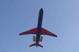 平凡なおっちゃんさんが、伊丹空港で撮影したアイベックスエアラインズ CL-600-2C10(CRJ-702)の航空フォト(飛行機 写真・画像)