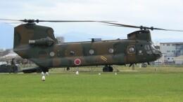 航空見聞録さんが、八尾空港で撮影した陸上自衛隊 CH-47Jの航空フォト(飛行機 写真・画像)