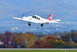 パンダさんが、旭川空港で撮影した日本個人所有 58 Baronの航空フォト(飛行機 写真・画像)