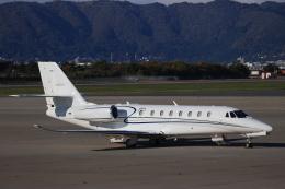 Tomochanさんが、函館空港で撮影したノエビア 680 Citation Sovereignの航空フォト(飛行機 写真・画像)
