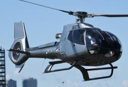 チャーリーマイクさんが、東京ヘリポートで撮影した日本法人所有 EC130B4の航空フォト(飛行機 写真・画像)