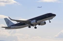 レガシィさんが、福岡空港で撮影したスターフライヤー A320-214の航空フォト(飛行機 写真・画像)