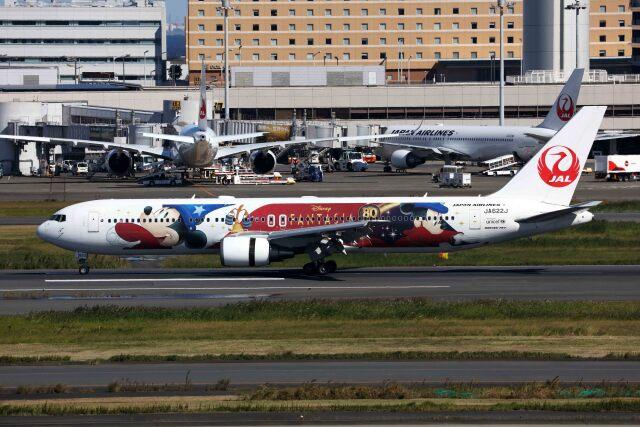 sin747さんが、羽田空港で撮影した日本航空 767-346/ERの航空フォト(飛行機 写真・画像)