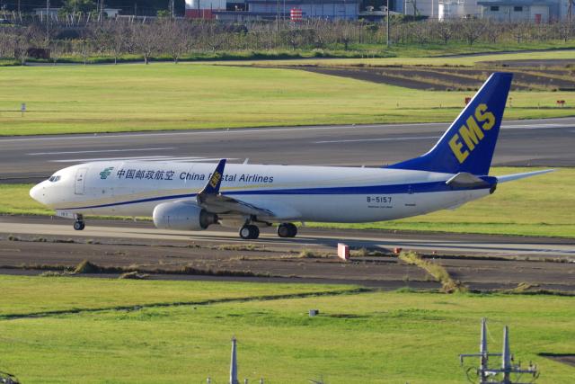 yabyanさんが、成田国際空港で撮影した中国郵政航空 737-81Q(BCF)の航空フォト(飛行機 写真・画像)