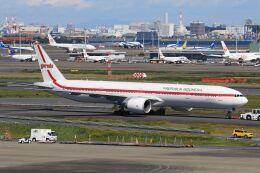スポット110さんが、羽田空港で撮影したガルーダ・インドネシア航空 777-3U3/ERの航空フォト(飛行機 写真・画像)