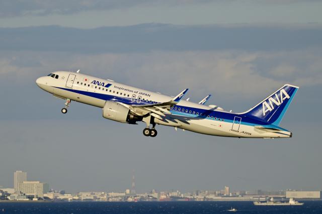 Frankspotterさんが、羽田空港で撮影した全日空 A320-271Nの航空フォト(飛行機 写真・画像)