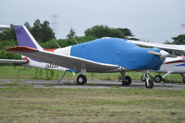 kumagorouさんが、大利根飛行場で撮影した日本個人所有 PA-28-161 Warrior IIIの航空フォト(飛行機 写真・画像)
