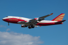Tomo-Papaさんが、横田基地で撮影したナショナル・エアラインズ 747-446(BCF)の航空フォト(飛行機 写真・画像)