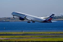 そば小猿さんが、羽田空港で撮影したアエロフロート・ロシア航空 A350-941の航空フォト(飛行機 写真・画像)